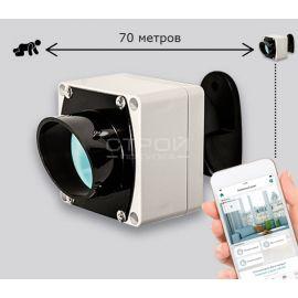 Уличный оптико электронный извещатель L70RA Livi в системе умного дома Livicom.