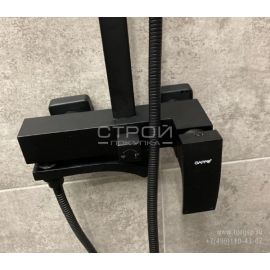 Душевой комплект GAPPO G2407-6 черный