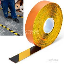 Прочная лента для маркировки пола промышленный ПВХ толщиной 1 мм от завода Heskins.