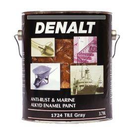 Антикоррозийная краска по металлу 1700 Denalt Anti-Rust серого цвета.