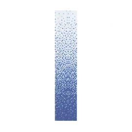 Мозаика COV09 голубой (1-9) (сетка) 327*327