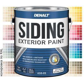 Суперпрочная акриловая краска для фасадных работ - Denalt Siding Exterior 610.