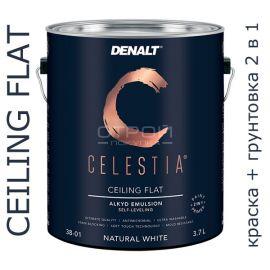 Потолочная влагостойкая краска 3800 Celestia Celing Flat.