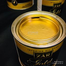 ZAR Gold Paint - декоративная золотая патина на масляной основе цвета «сусальное золото» Продукт применяется для декорирования картинных рам, антикварных вещиц, потолочных карнизов и т.д.