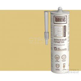 Акриловый герметик для парилок Torvens - светлая сосна