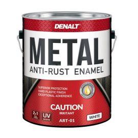 Защитная полиуретановая алкидная фасадная краска Art Denalt High Gloss Plastic для наружных и внутренних работ.