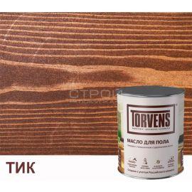 Масло воск Torvens колерованное для для пола из дерева для внутренних работ - цвет тик.