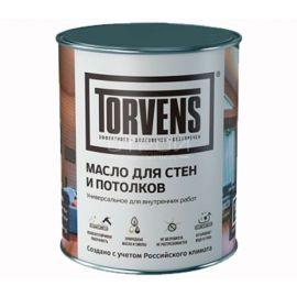 Защитное масло для стен и потолков Torvens в банке объемом 1 литр.
