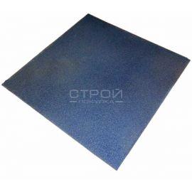 Синяя плитка Rubblex Standart из резиновой крошки.
