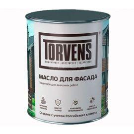 Защитное масло Torvens для фасада деревянного дома. Фасовка в банках объемом 1 и 5 литров.