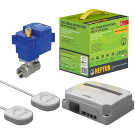 Систему Neptun Base Light для устранения протечек в в помещениях с газовой колонкой.