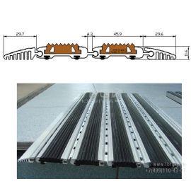 Накладная грязезащитная решетка с резиной Система-2