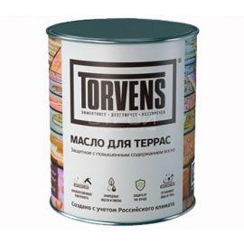 Защитное масло воск для террас Torvens в банке объемом 1 и 5 литров.