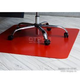 ащитный коврик под кресло на пол для паркета и ламината BSL-office 900*1200 красный
