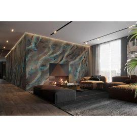 Шикарный Мрамор гибкий Мадейра для фасада и интерьера