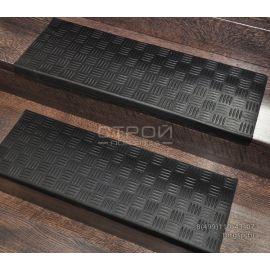 Проступи резиновые крестиком на ступени 25х75 см., Китай