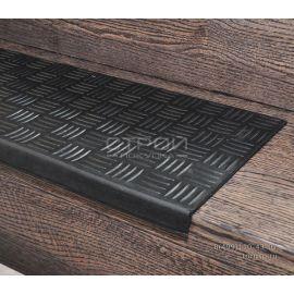 Накладки на ступени Крестик  25х75 см                          Ширина бордюра 26мм