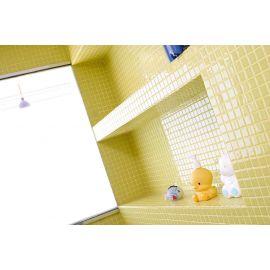 Мозаикой 2554-C Lisa выложена ванная комната.
