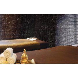 Мозаика Zen Black Marble в интерьере спа салона.
