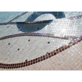 Мозаика Iris Cobre - декорирование в бассейне