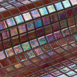 Мозаика Iris Cobre - коричневый перламутр