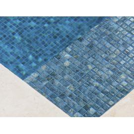 Мозаика Zen Dolerite в бассейне под водой