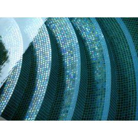 Мозаика Iris Green Pearl для бассейна