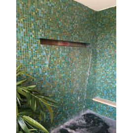 Мозаика Kiwi Topping (Испания, Ezarri) зеленого цвета для всех типов помещений