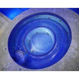 Мозаика Iris Ocean на чаше бассейна