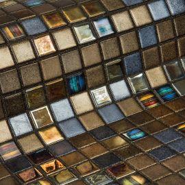 Pecans коллекция мозаики Topping — коричневый микс