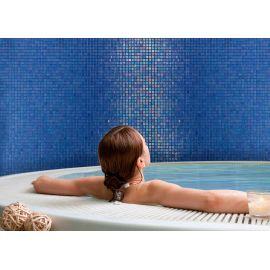 Мозаика Santorini коллекции Vulcano с перламутровой поверхностью для всех интерьеров.