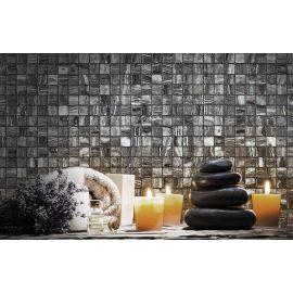 Мозаика Zen Tigrato на стене.