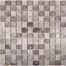 Полированная Мозаика 23X23 VLgP 30X30X0,8 см из мрамора коллекция Classic Wild Stone
