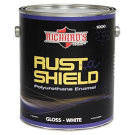 Антикорозийная эмаль Rust Shield - Полиуретановая краска по металлу Rust Shield Polyurethane Gloss Enamel