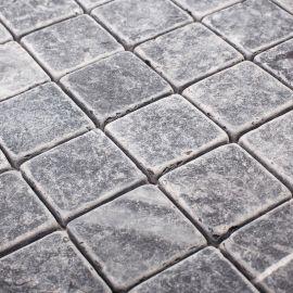 Матовая мозаика48X48 VBs Tumbled 30X30X0,8 см из мрамора коллекция Classic Wild Stone