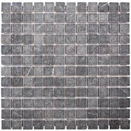 Мозаика 23X23 VBs Tumbled 30X30X0,8 см из мрамора коллекция Classic Wild Stone