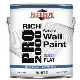 Акрило-латексная краска для внутренних работ Rich Pro 2000. Flat. - 5600 Rich Pro 2000 Interior Vinyl Acrylic Wall Paint