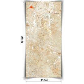 Мрамор гибкий Опал 284х142 см в рулоне