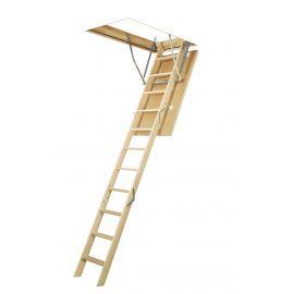 Лестница Fakro LWS Plus - базовая модель сегментной лестницы для деревянного потолка.