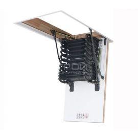 Ножничная лестница Fakro LST в сложенном состоянии.