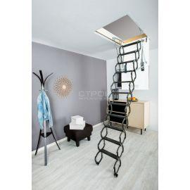 Ножничная лестница Fakro LST идеально впишется в Ваш интерьер.