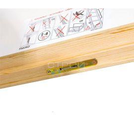 Скрытый механизм закрытия люка чердачной лестницы Fakro LTK.