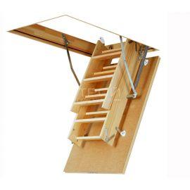 Лестница Fakro LWS Plus в сложенном состоянии.