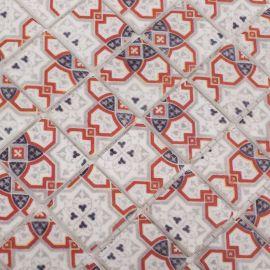 Стеклянная мозаика Ornament 4503 для фартука на кухню - распродажа остатков.