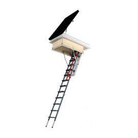Утепленный люк для выхода на кровлю DRL может комбинироваться с лестницами Fakro.