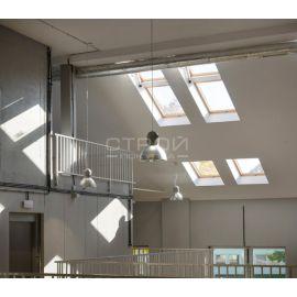 Настройка автоматического вентилирования помещения с помощью окна - системы дымоудаления FSP  Fakro.