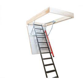 Вид сбоку на чердачную лестницу Fakro LMP.