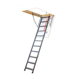 Чердачная лестница с люком Fakro LMK вид справа.