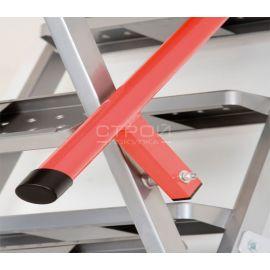 Поручень-пневмомеханизм чердачной лестницы LML Lux с телескопическими ножками.