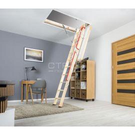 Чердачная лестница Fakro LWL Extra сохранит тепло в загородной котедже и сбережет энергию.